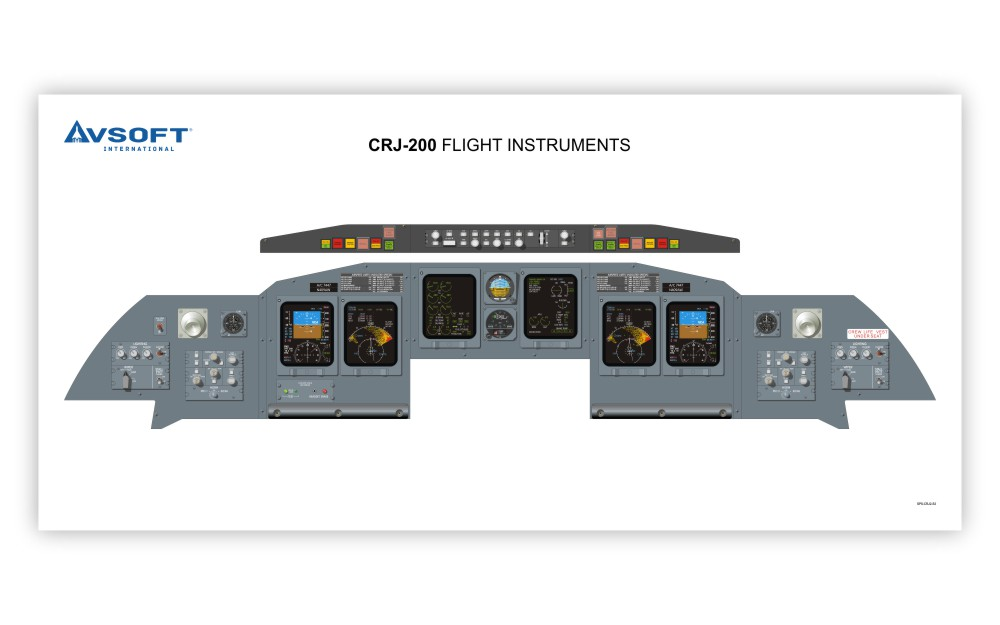 Instrument Panel Layout Template